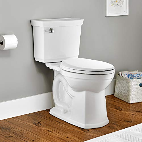 American Standard 203AA104.020 Ultima VorMax Right Height Elongated 1.28 GPF Toilet without Seat, White, 2 Piece