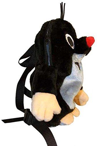 Trullala Rucksack, der kleine Maulwurf, aus der Sendung mit der Maus 30 cm, in schwarz