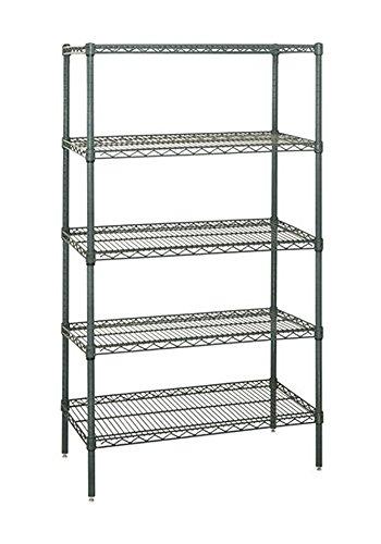 Quantum Storage Systems Wire Shelving 5 Shelf Starter Unit 12 x 48 x 54 - Proform
