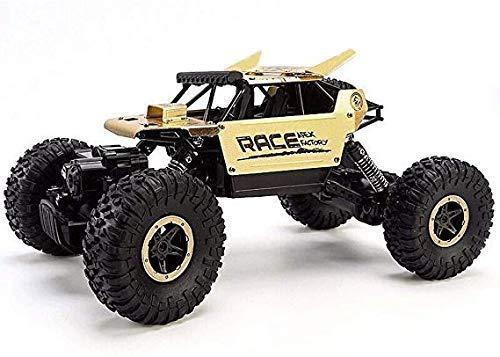 Monstruo RC-o-terreno de 2,4 GHz de radio control remoto de coches todo terreno Escala 1:16 teledirigido recargable del coche 4WD aleación de alta velocidad Escalada Camiones regalo de los juguetes de