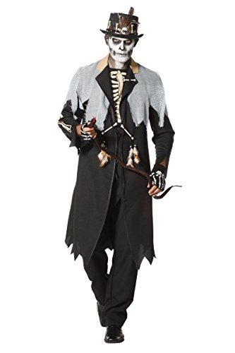 Wilbers Herren Kostüm Voodoo Priester Karneval Halloween Gr.58