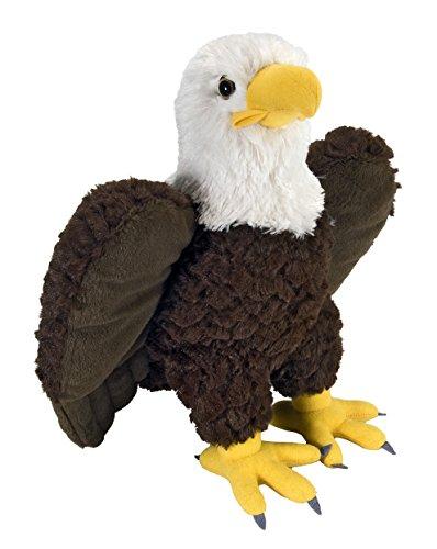 Lashuma Plüschtier Vogel, Cuddlekins Weißkopfseeadler, Adler Kuscheltier 30 cm