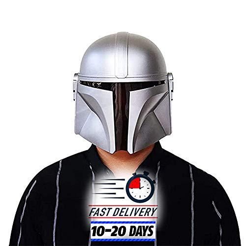 The Mandalorian Helmet SW Halloween Cosplay Kostüm Spritzguss Modell PVC Maske