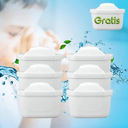 WASSERFILTER-KARTUSCHEN +1 Filter Gratis || Wasserfilter Brita Maxtra Marella KOMPATIBEL || Qualität von AquaClean® (6+1Gratis)