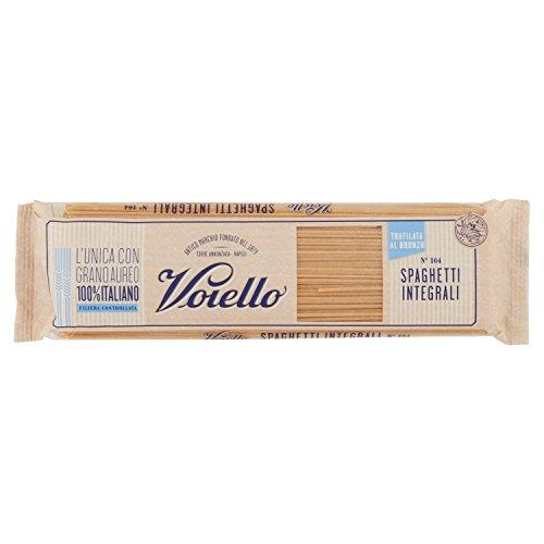 Voiello Pasta Spaghetti Integrale, Pasta Lunga di Semola Grano Aureo 100% - 500 gr