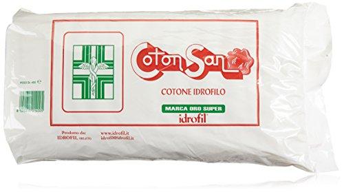 Idrofil Paquet de 400 g de coton