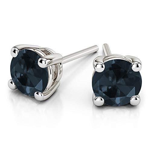 Natuurlijke Diamond Oorbellen met diamant-oorbellen voor dames, wit, goud, diamant, oorbellen met diamant, 100% echte diamant-oorbellen