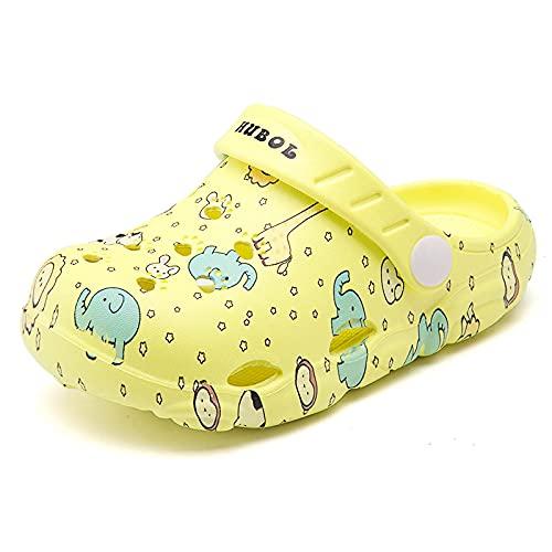 NISHIWOD Chausson Pantoufle Sandale Nouvelles Chaussures De Jardin À La Mode Pantoufles Sabots De Jardin De Haute Qualité Chaussures 26 Yellow0912