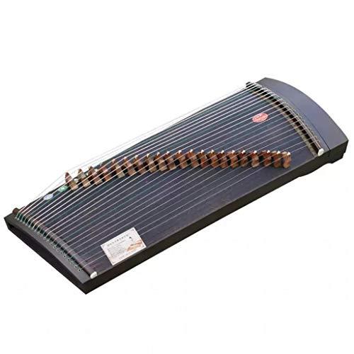 Gu Zheng, Portable Guzhengs, Gu Zheng Instrument mit vollem Zubehör, geeignet for Fachmann/Anfänger/Erwachsene/Kinder, 85 cm lang, 21 Saiten