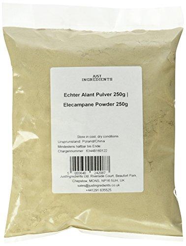 JustIngredients Echter Alant Pulver, Elecampane Powder, 2er Pack (2 x 250 g)