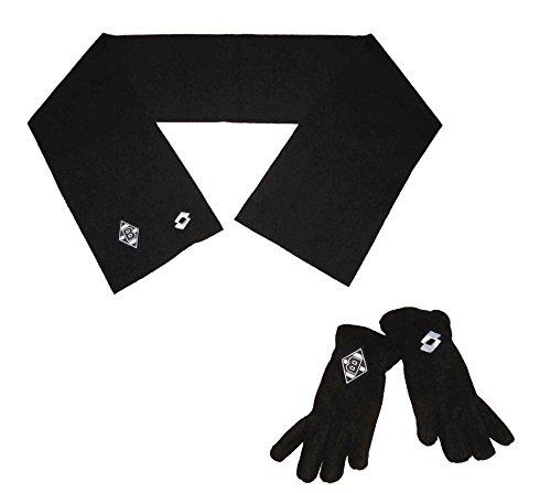 Borussia Mönchengladbach Fanset Schal Handschuhe Lotto