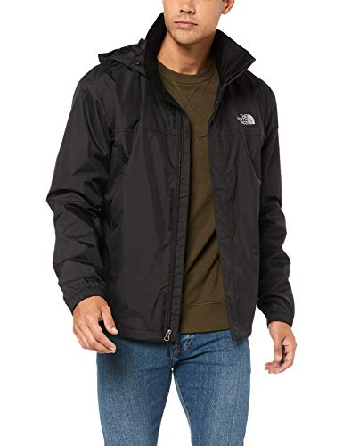 The North Face Men's Resolve Waterproof Jacket - Fall or Winter Coat, TNF Black/TNF Black, XL