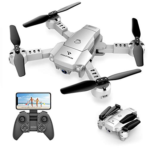 SNAPTAIN A10 Mini Foldable Drone with 720P HD Camera FPV WiFi RC Quadcopter...