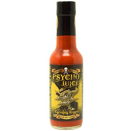 Psycho Juice 70% Carolina Reaper - Salsa de Chile Picante - 148ml