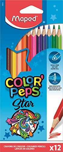 Maped Color'Peps - Pack de 12 lápices de colores