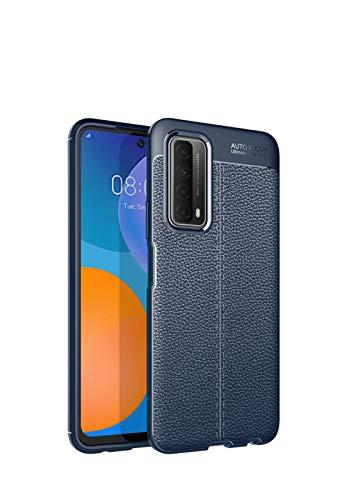 Bolso de un teléfono portátil Para el caso Huawei P Smart (2021), para el caso Huawei Y7A, para Huawei, disfrute de un estuche 20se, protector de carcasas de la textura del teléfono móvil resistente a