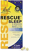 Bach Rescue Sleep Natural Sleep Remedy Liquid Melts Natural Sleeping Aid FamilyValue3Pack (28count)