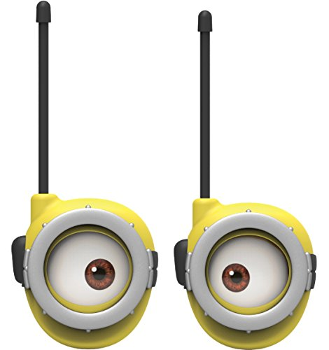 Product Image of the Minions Walkie Talkies for Kids Static Free Extended Range Kid Friendly Easy to...