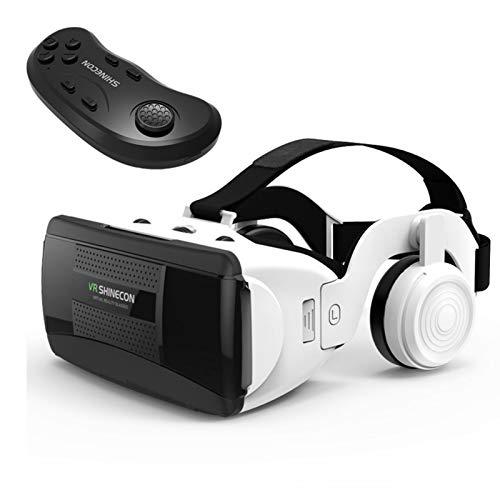 Fancylande VR Brille, HD Virtuelle Realität Headset, 3D Virtual Reality Box, 90°- 120°FOV VR Kopfhörer Für 3D Film Video Gaming, Kompatibel Mit Android IOS Und Anderen Smartphone