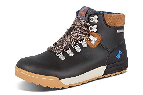Forsake Patch - Women's Waterproof Premium Leather Hiking Boot (8.5 M US, Black/Tan)