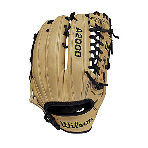 """Wilson 2021 A2000 A12 (Pitcher) - Right Hand Throw,12"""",Blonde"""