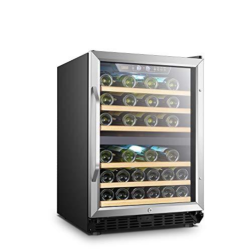 LANBO Dual Zone Wine Refrigerator