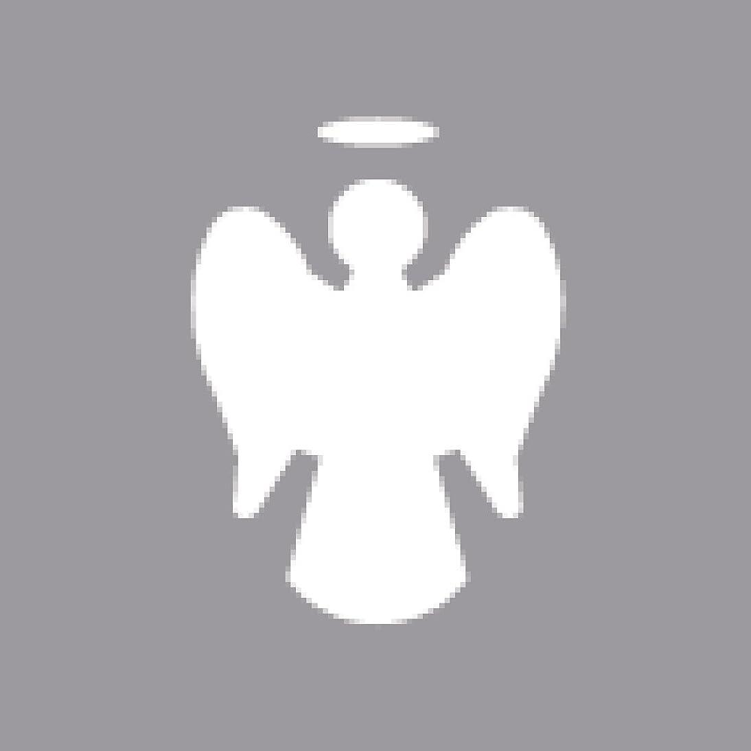 Rayher Angel Motive Puncher, Orange, 2.54 cm