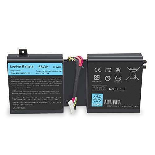 ASUNCELL Batería del Ordenador portátil para DELL Alienware 17 17X 18 18X...