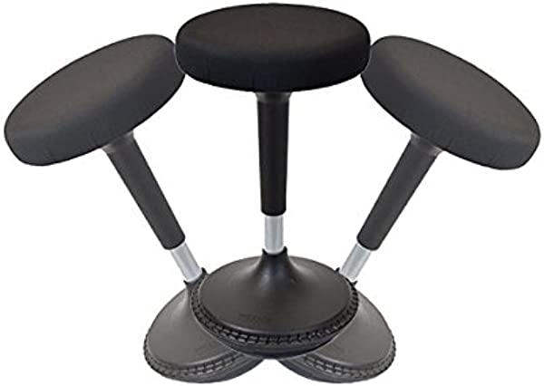 Wobble Stool Standing Desk Chair For Active Sitting Modern Sit Stand Up Desk Stools High Perching Perch Office Chairs Tall Swivel Leaning Ergonomic Computer Balance Renewed