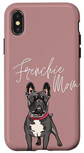 iPhone X/XS Frenchie Mom French Bulldog Misty Brown Case