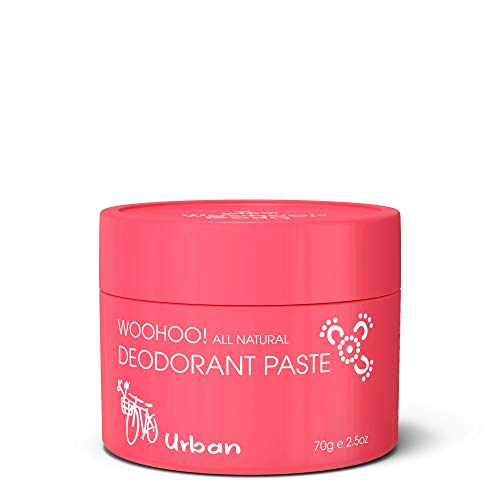 Woohoo! Body All-Natural Deodorant Paste (Urban, 2.5 oz Jar)