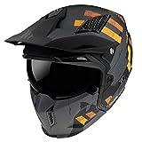 MT Helmets Streetfigther Skull 2020 Matt Gray - Casco de Mot