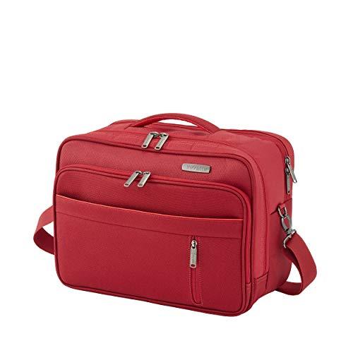"""Travelite Gepäckserie """"CAPRI"""" in 3 Farben: Praktische, elegante 2- und 4-Rad-Trolleys, Reise- und Bordtaschen Reisetasche, 38 cm, 20 Liter, Rot"""