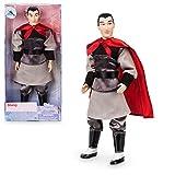 Mulan Oficial Disney 30cm Li Shang Clásico Muñeca Figura