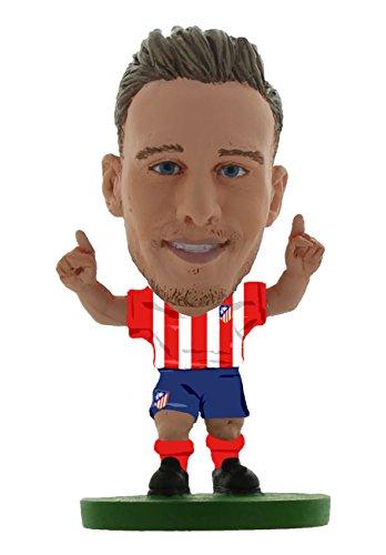SoccerStarz SOC1094 Atletico Madrid Saul Niguez Home Kit Figuras clásicas