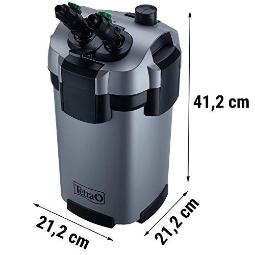 Tetra Aquarien Außenfilter EX 800 Plus (leistungstarker Filter für Aquarien von 100-300 L, Komplettset mit Ansaughilfe zum Schnellstart und Filtermedien) - 6