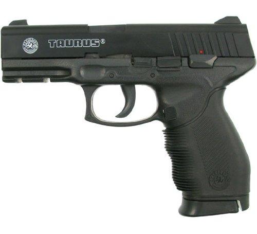 Taurus PT 24/7 Rubber Grip Softair / Airsoft Pistole 6mm BAX System, inkl. Ersatzmagazin < 0,5 J.#14
