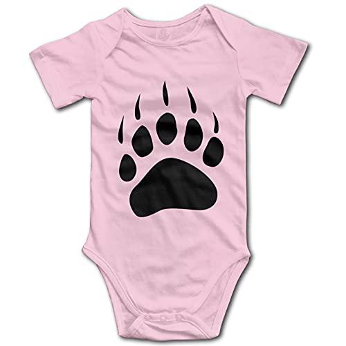 Ropa de bebé de manga corta con diseño de oso nativo americano, unisex, para recién nacidos, de algodón
