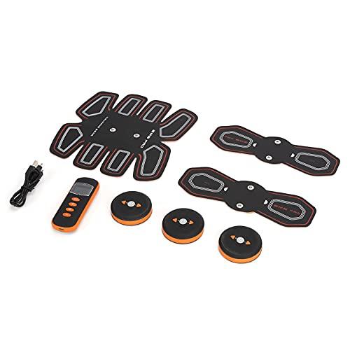 SALUTUY Estimulador Muscular, Estimulador Muscular ABS Parche Muscular Abdominal con Diseño Ergonómico para Ejercicio De Oficina Ome