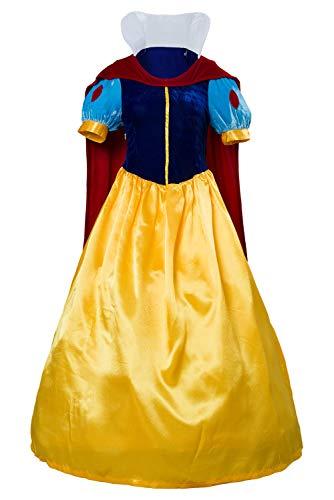 Linen Family Disfraz de princesa de cuento de hadas para