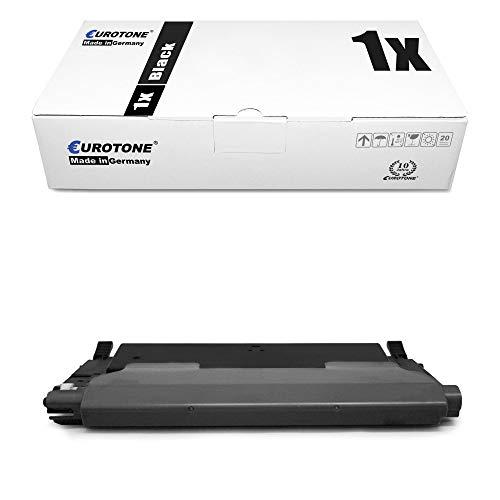 1x Eurotone Cartuccia Toner per Samsung CLX 3170 3175 FW FN N sostituisce CLT-K4092S Nero