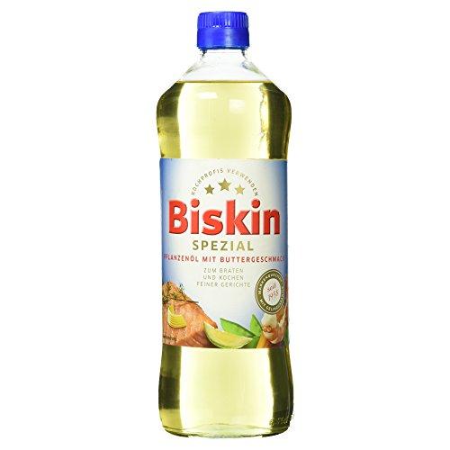 Biskin Pflanzenöl Spezial mit Buttergeschmack, 750 ml