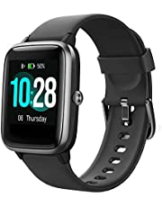 """Willful Smart Watch,1.3"""" Touch Screen Smartwatch,Fitness Trackers With Heart Rate Monitor,Waterproof IP68 Activity Trackers Watch Pedometer Stopwatch,Smart Watch for Men Women for iPhone Android Phone"""