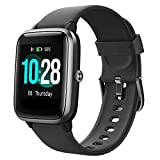 Willful Smartwatch, 3,3 cm (1,3 Zoll) Touchscreen, Fitness-Tracker mit Herzfrequenz-Monitor, wasserdicht, IP68, Schrittzähler, Stoppuhr, für Herren und Damen, für iPhone und Android,...