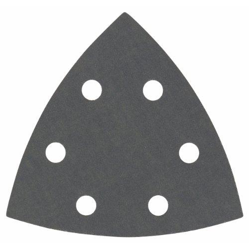 Bosch Professional Schleifblatt für Dreieckschleifer und Multi-Cutter (5 Stück, 93 mm, Körnung 600, F355)
