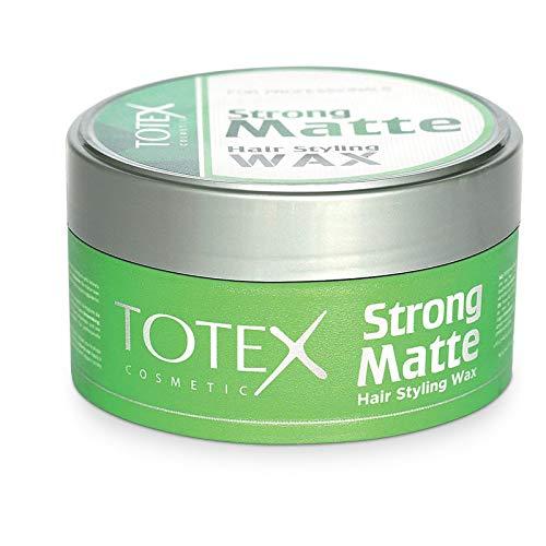 TOTEX Hair Styling Wax Strong Matte 150 ml (1 Stück) Haarwax - Haarwachs