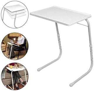 Sofa Side Magazine Snack Table Portable Folding Chairside Coffee End Table Height AdjustableLaptop Desk Stand u