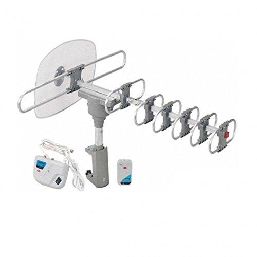Quantum FX HD/DTV/UHF/VHF/FM 360° Motorized Rotating Antenna consumer electronics Electronics