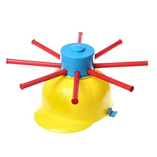 Nass Kopf-Party-Spiel, Mehrfarbig Wasserspielzeug Wet Head Wasserroulette, Nassen Hut Wasser Spiel lustige Roulette Streich Spielzeug für Familienfeier Urlaub