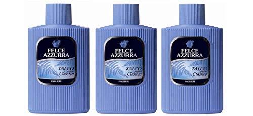 PAGLIERI - Felce Azzurra - Körperpuder (Talkum) 3x 200gr. Dose